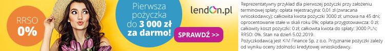 baner reklamowy Lendon
