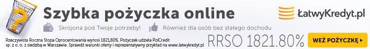 baner reklamowy Łatwy Kredyt