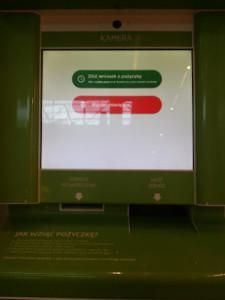 ekran gotówkomatu