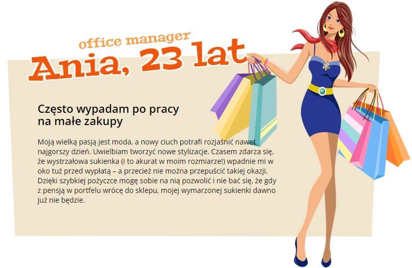 wypowiedź klientki firmy Kobieta z Kasą
