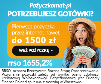 baner reklamowy Pożyczkomat