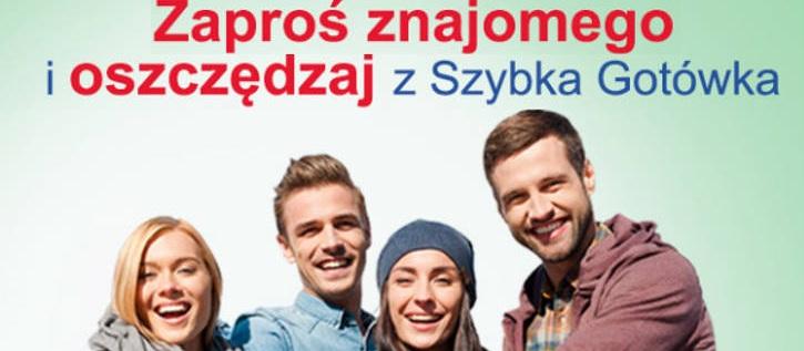 Najnowsza oferta Szybkiej Gotówki – poleć pożyczkę i zyskaj 40 zł!