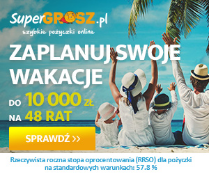baner reklamowy Super Grosz