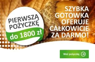 Pierwsza pożyczka do 1800 za darmo – jesienna promocja Szybkiej Gotówki