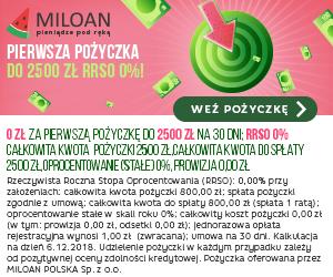 baner reklamowy Miloan