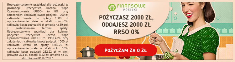 baner finansowe posiłki