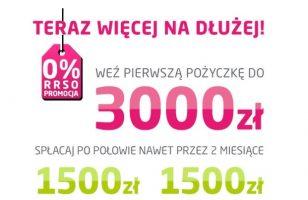 Promocja w Vivusie – pożycz do 3000 zł na 60 dni!