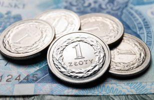 złotówki i polskie banknoty