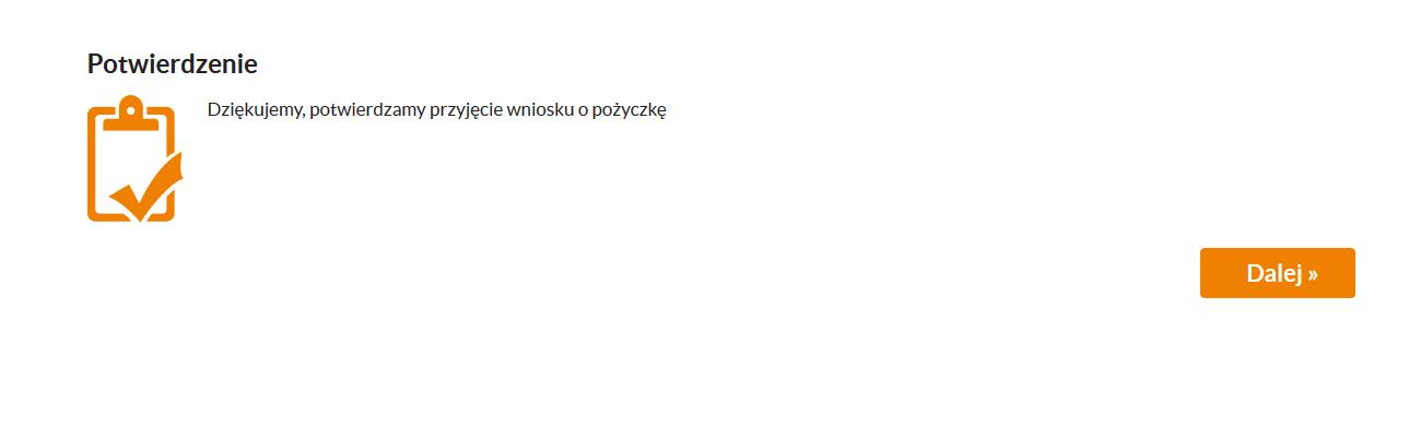 Ostatnia strona formularza w SMS365