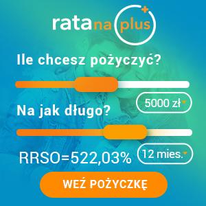 Baner reklamowy Rata na plus