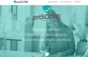 GetScore - strona internetowa systemu