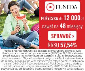 baner reklamowy Funeda