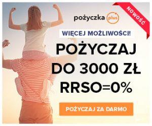 baner reklamowy Pożyczka Plus