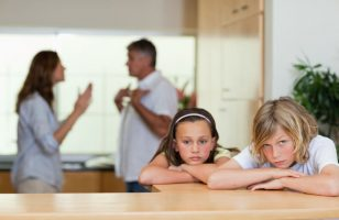 rodzice się kłócą