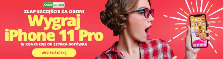 baner reklamowy Szybka Gotówka