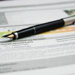 deklaracja pit i długopis