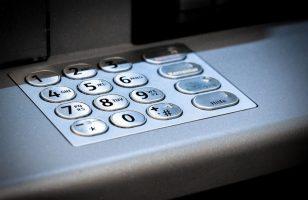 bankomat klawiatura