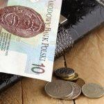portfel i drobne pieniądze