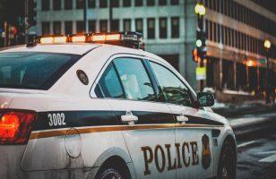 radiowóz policyjny